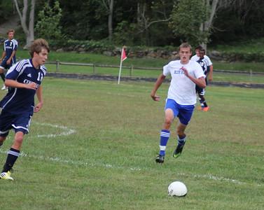 Varsity Soccer Beat The Covenant School 1-0
