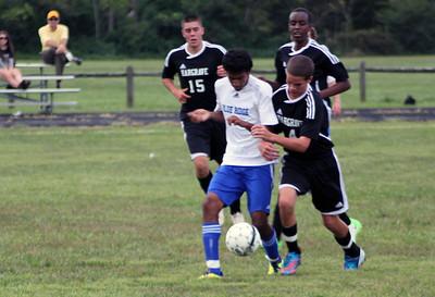 Varsity Soccer Beats Hargrave 8-0, Sept. 22