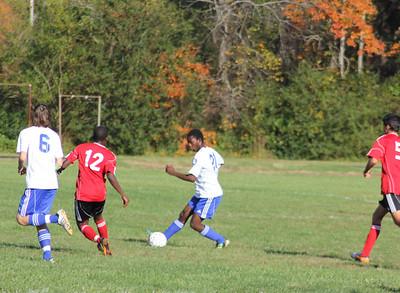 Varsity Soccer vs. North Cross, Oct. 19, 2012