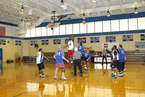 Baron Alumni Battle in Basketball