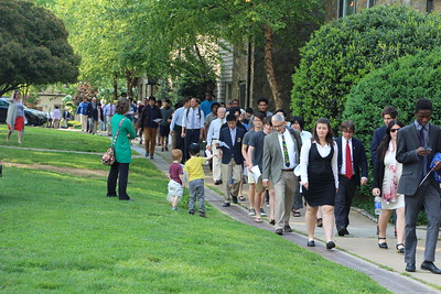 Commencement Rehearsal for the Class of 2016