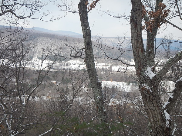 Winter Hike on Brokenback Mountain - New Trails