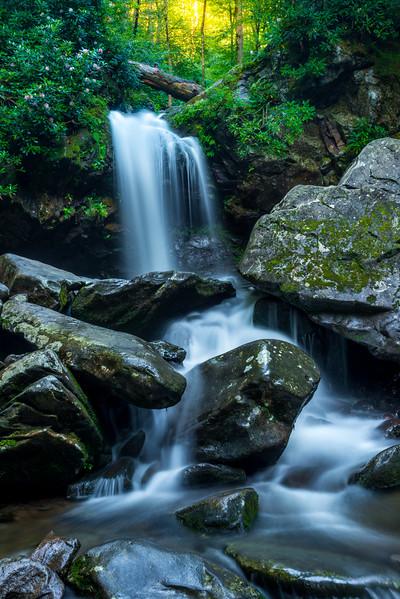 Grotto Falls in Gatlinburg