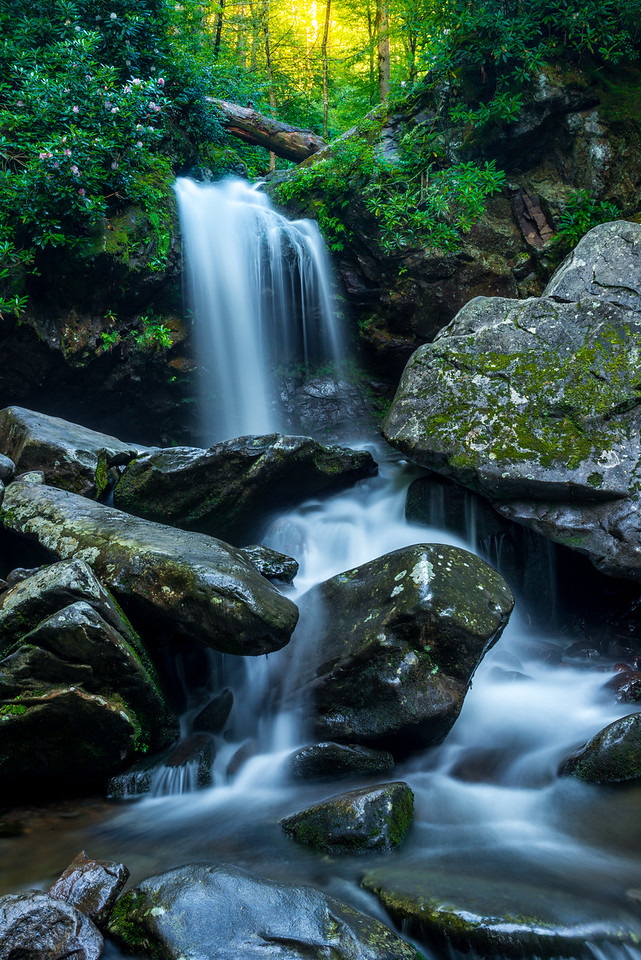 Grotto Falls in Gatlinburg