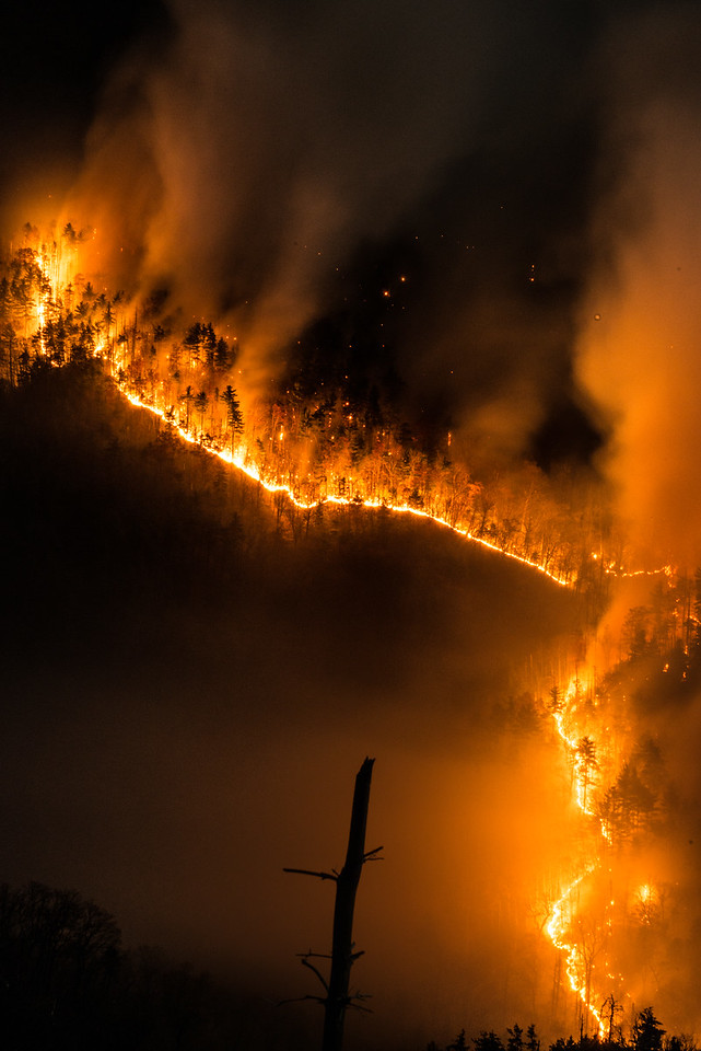 Linville Gorge Wildfire