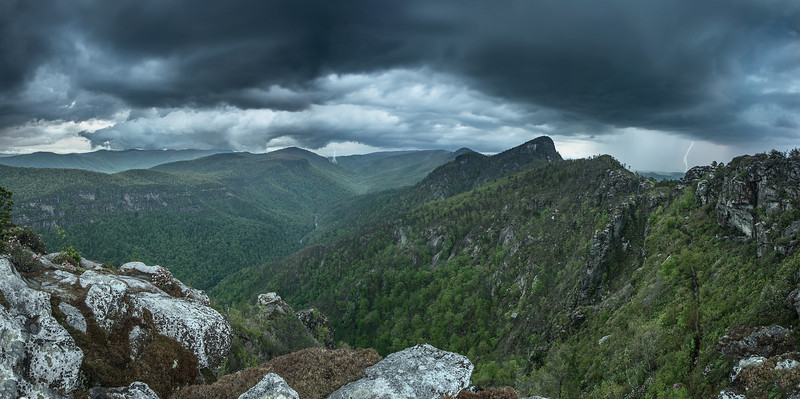 Linville Gorge Lightning Storms