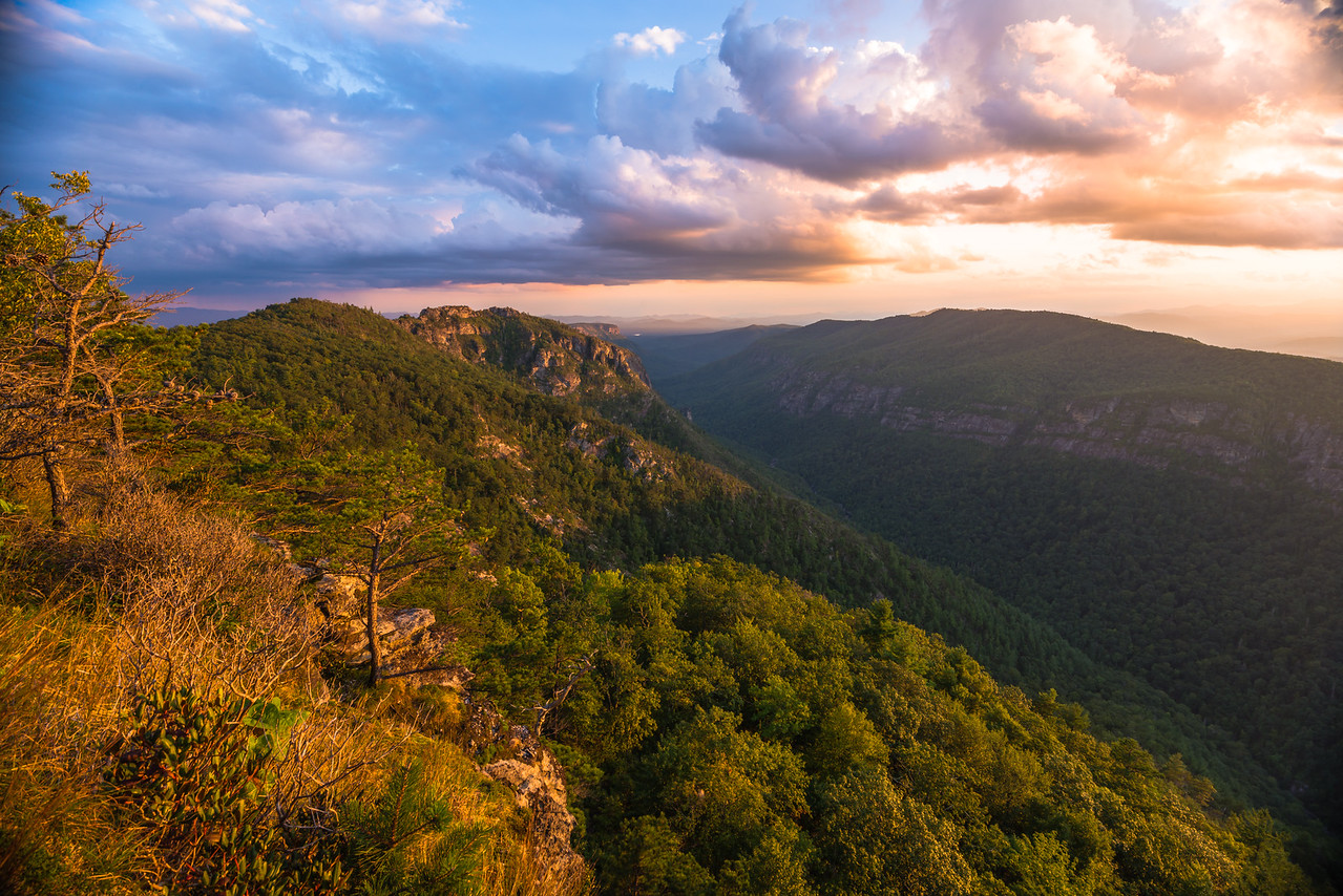 Sunset on Table Rock