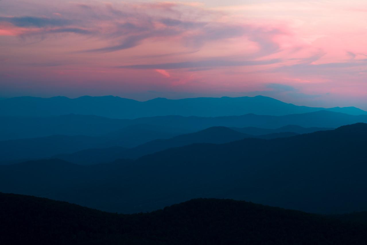 Dusk on the Ridge