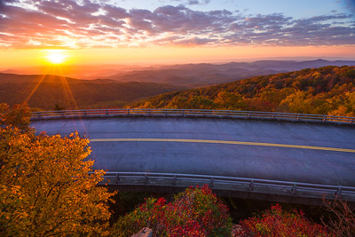 Fall Sunrise on the Viaduct
