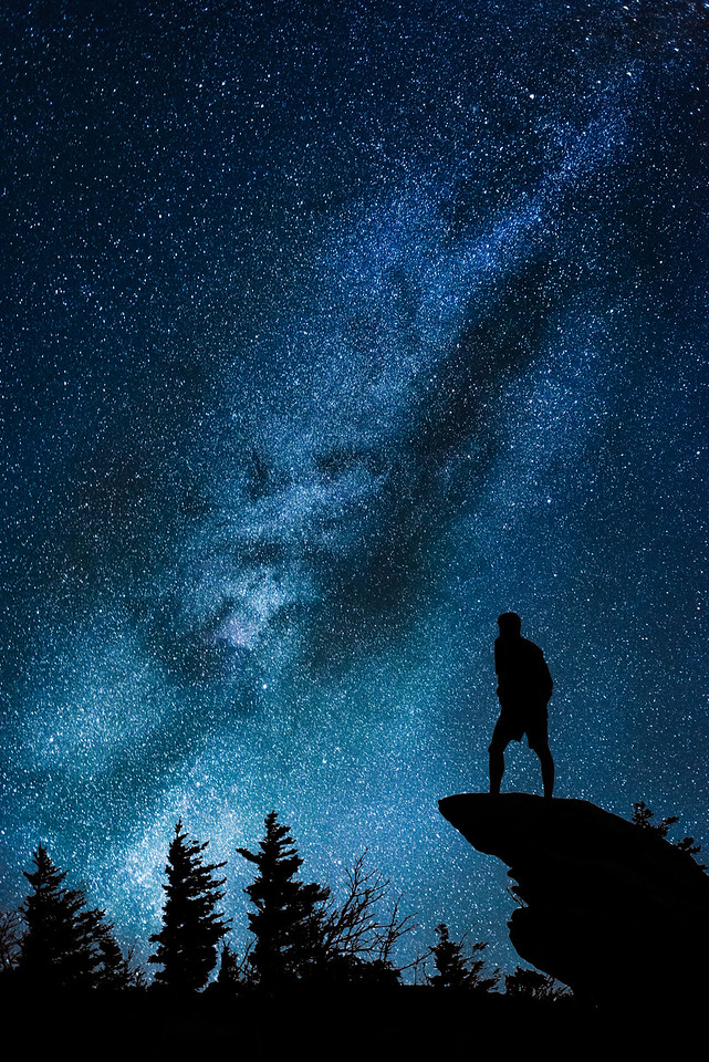 Milky Way from Rough Ridge