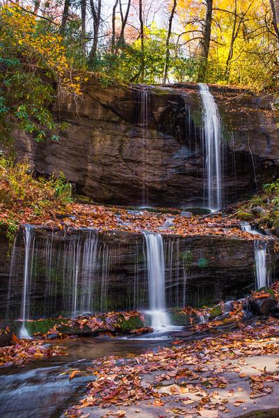 Low Water on Grassy Creek Falls