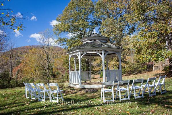 Mountain View Gazebo at Blue Ridge Weddings