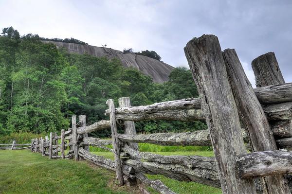 Split Decision at Stone Mountain