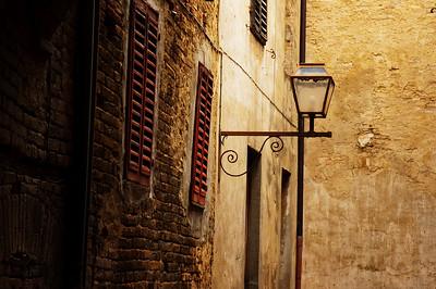 San Gimignano Street Light