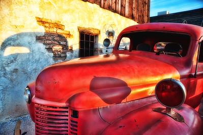Fire Truck Evening Glow