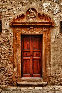 Doorway of San Gimignano