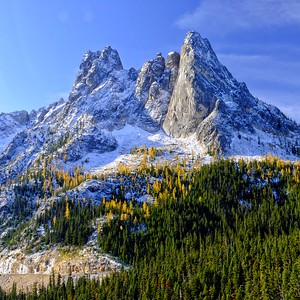 Liberty Bell Mountain Grandeur