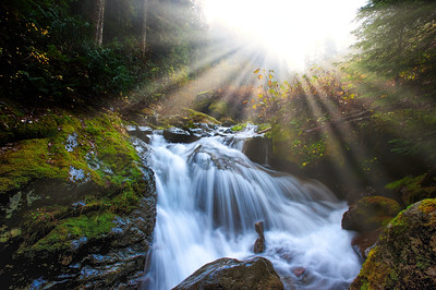 Perry Creek Waterfall