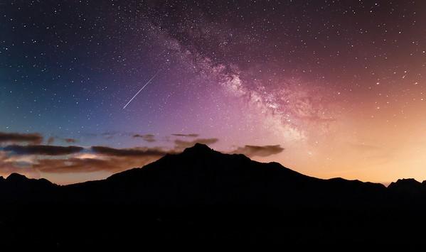 Mt Pilchuck - Night Sky