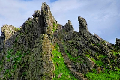 Ancient Skellig Michael Island