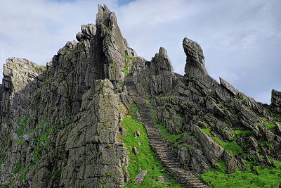 Skellig Michael - Stairway to Heaven