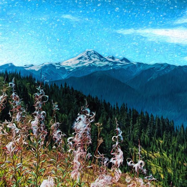 Baker Mountain Late Summer Day