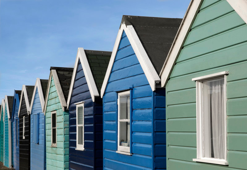 Beach Huts 12