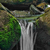 Spring waterfall at Wintergreen, Virginia