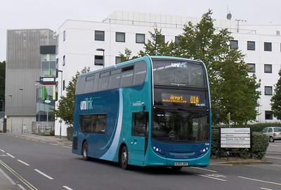 1548 - HJ63JKX - Highfield (Salisbury Road)