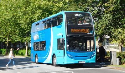 1554 - HJ63JLX - Southampton (Highfield University campus)