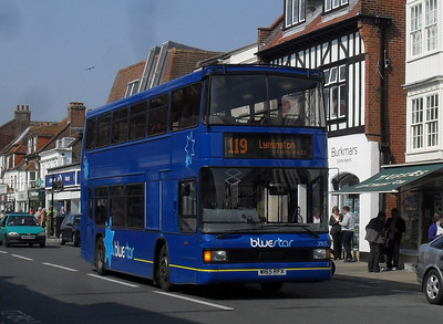 1665 - W165RFX - Lymington (town centre) - 18.4.11