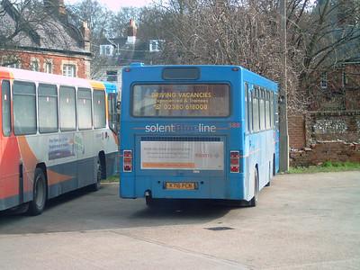 585 - K716PCN - Winchester (bus station) - 25.2.06