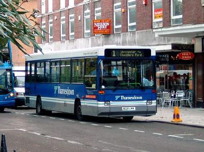 on loan 128 - N128LHW - Southampton (city centre) - 22.10.05