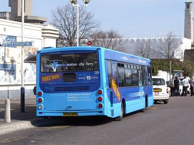 3351 - PE55WPP - Southampton (Central Stn) - 26.3.09