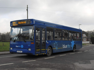 3237 - P737RYL - Otterbourne Hill - 28.1.12