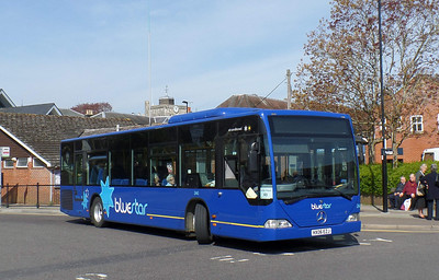 2440 - HX06EZJ - Romsey (bus station) - 17.4.14