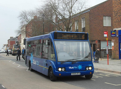 3655 - V655DFX - Lymington (High St) - 4.4.13