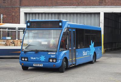 3669 - V669DFX - Winchester (bus station) - 2.9.09