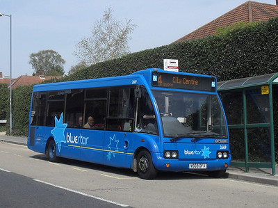 3669 - V669DFX - Highfield, Southampton - 24.4.10