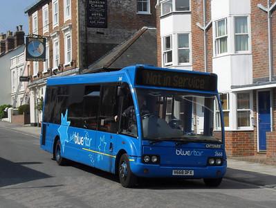 3668 - V668DFX - Lymington (depot) - 18.4.11