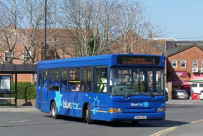 3302 - SN03EBP - Romsey (bus station)