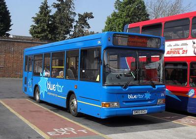 3307 - SN03ECA - Lymington (bus station) - 18.4.11