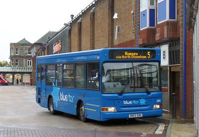 3305 - SN05EBX - Eastleigh (bus station) - 29.10.14