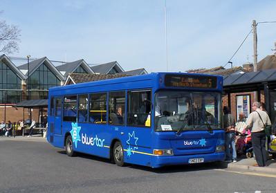 3302 - SN03EBP - Romsey (bus station) - 17.4.14