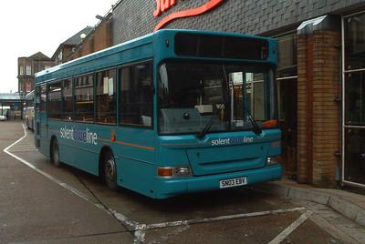 3304 - SN03EBV - Eastleigh (bus station) - 10.4.04