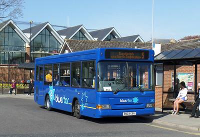 3303 - SN03EBU - Romsey (bus station) - 17.4.14