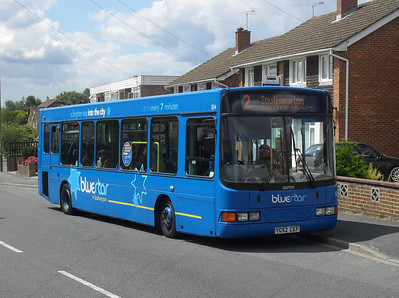 3404 - YG52CEF - Fair Oak (Sandy Lane) - 29.6.11