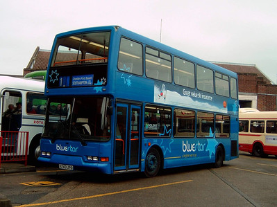 1743 - T743JPO - Winchester (bus station) - 1.1.05