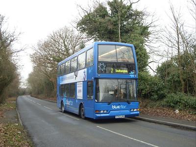 1743 - T743JPO - North Stoneham (Stoneham Lane) - 7.1.09