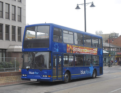 1743 - T743JPO - Eastleigh (bus station) - 31.3.12